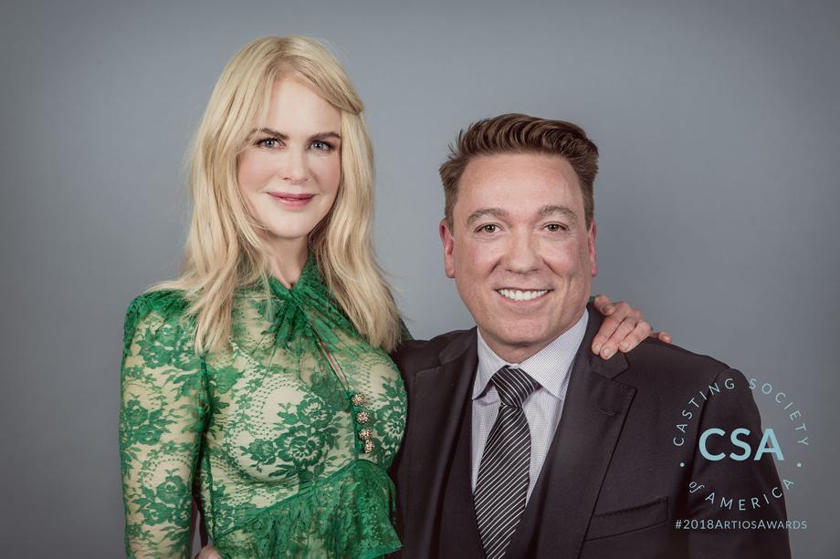 Nicole Kidman and Kevin Huvane - photo credit: Lisa Kelly Remerowski