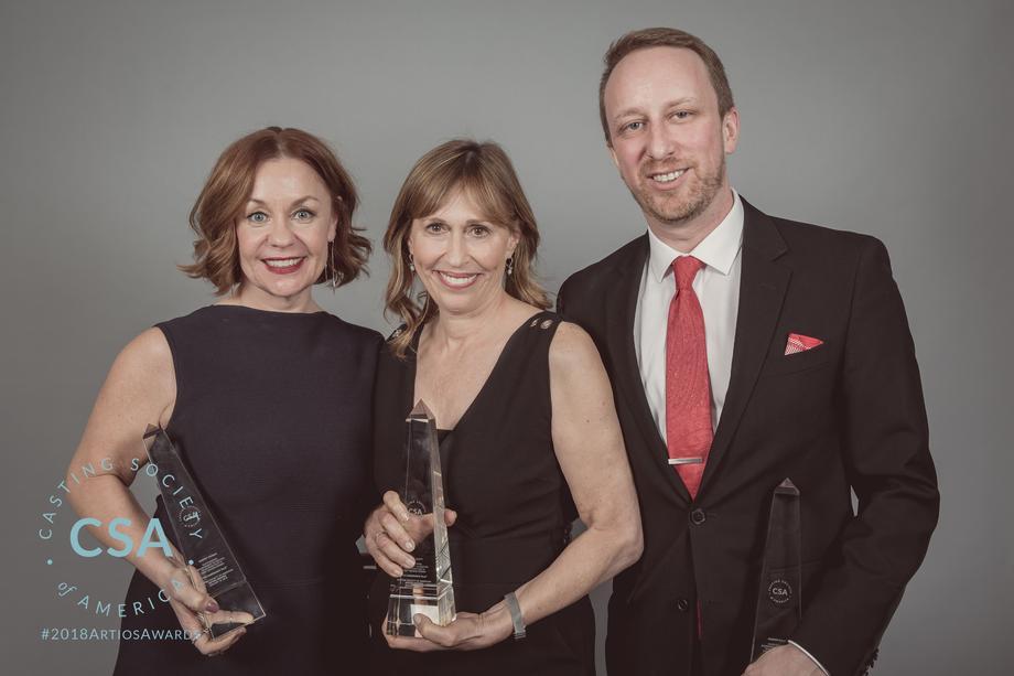 Winners Sherry Thomas, Sharon Bialy, Russell Scott - photo credit: Lisa Kelly Remerowski