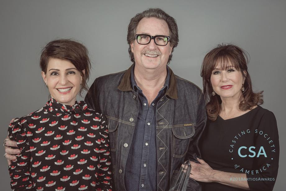 Nia Vardalos, John Papsidera and Mary McDonnell - photo credit: Lisa Kelly Remerowski