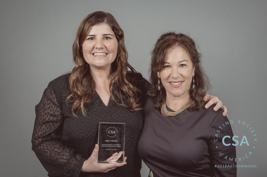Winner Emily Towler and Tracy Lillienfield - photo credit: Lisa Kelly Remerowski