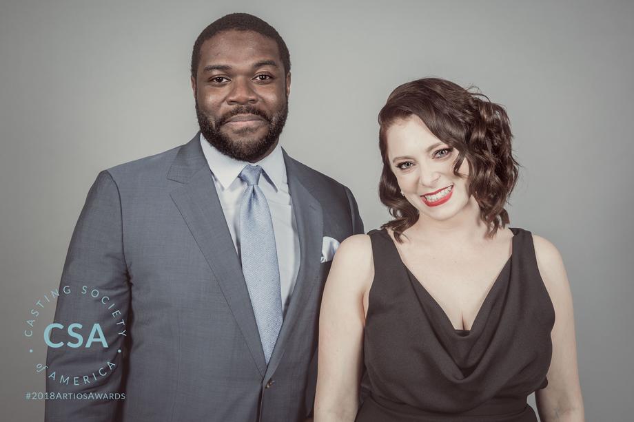 Presenters Sam Richardson and Rachel Bloom - photo credit: Lisa Kelly Remerowski