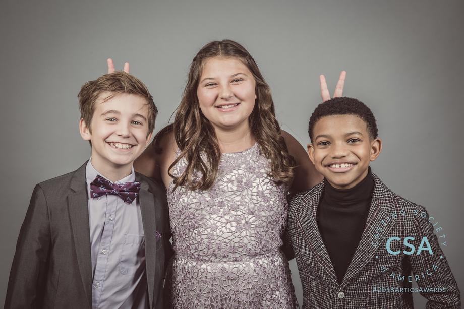 Presenters Parker Bates, Mackenzie Hancsicsak, Lonnie Chavis - photo credit: Lisa Kelly Remerowski