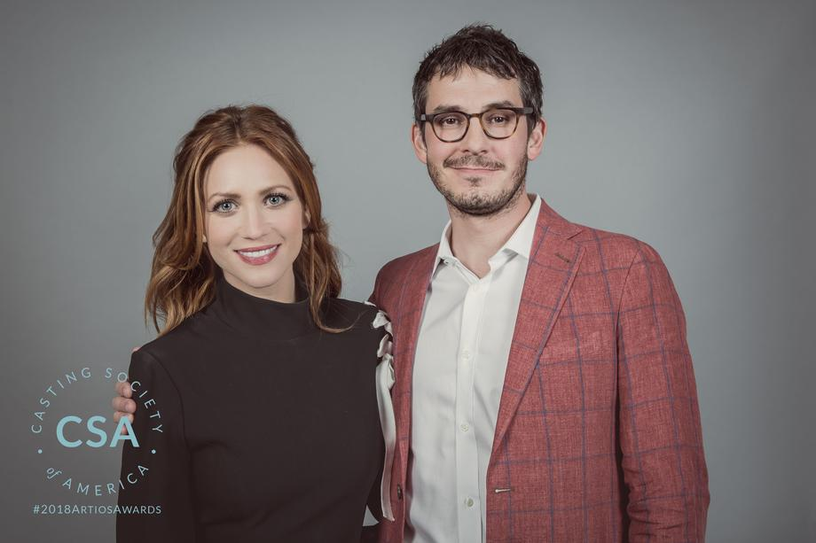 Presenters Brittany Snow and Tate Ellington - photo credit: Lisa Kelly Remerowski