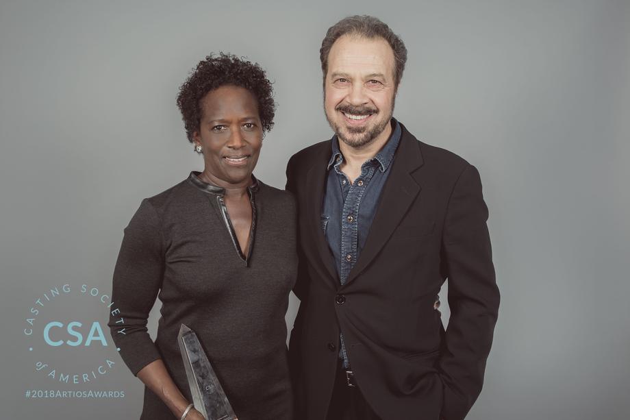 Winner Victoria Thomas and Edward Zqick - photo credit: Lisa Kelly Remerowski