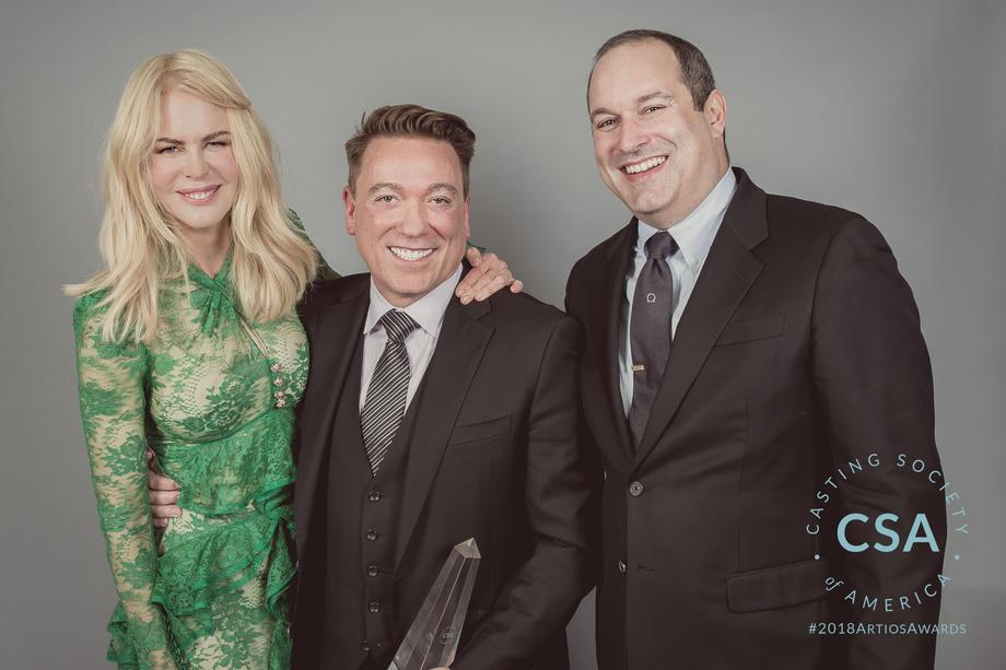 Nicole Kidman, Kevin Huvane, Matthew Lessall - photo credit: Lisa Kelly Remerowski