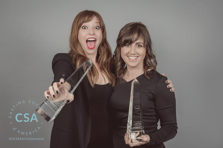 Winners Amanda Lenker Doyle and Chrissy Fiorilli - photo credit: Lisa Kelly Remerowski