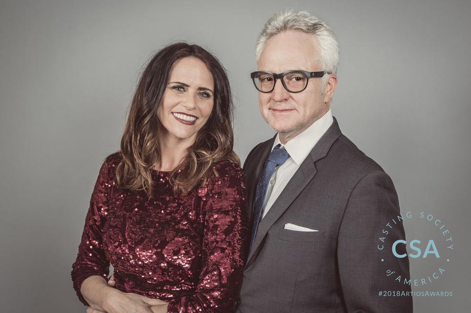 Presenters Amy Landecker and Bradley Whitford - photo credit: Lisa Kelly Remerowski